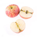 Red apple fruit isolated Stock Photo