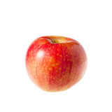 Red apple fruit isolated on white background. Red apple Stock Photo
