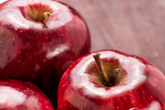 Red apple for good health Stock Image