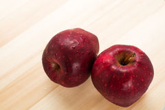Red apple for good health Royalty Free Stock Photo