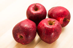 Red apple for good health Royalty Free Stock Photos