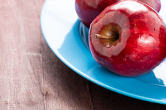 Red apple for good health Stock Photography