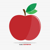 Red apple icon Royalty Free Stock Photo