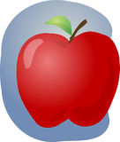 Red apple illustration Stock Photography
