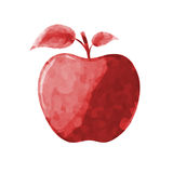 Red Apple Illustration Royalty Free Stock Photography