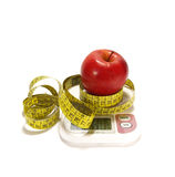 Red apple isolared Royalty Free Stock Photos