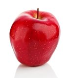 Red apple isolated Stock Photo