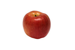 Red apple isolated with clipping path. Red apple isolated on white background with a clipping path Royalty Free Stock Image