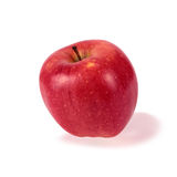 Red Apple. Isolated Stock Photo