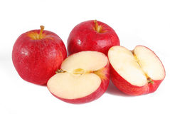Red apple isolated Royalty Free Stock Photo