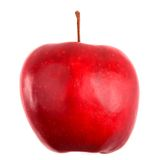 Red apple isolated on white Stock Photo