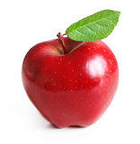 Red apple isolated Stock Photography