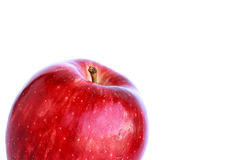 Red apple isolated Stock Image