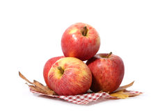 Red apple. Isolated on white background stock image