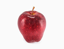 Red apple isolated on a white background Royalty Free Stock Images
