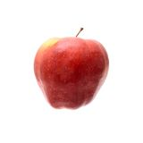 Red Apple Isolated on the White Background Stock Photography