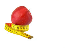Red apple (malus) Royalty Free Stock Photography