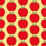 Red Apple Pattern Stock Photos