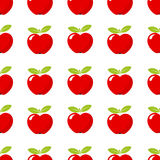 Red apple pattern Royalty Free Stock Photography