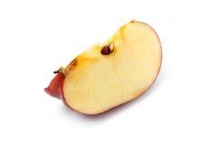 Red Apple Slice Stock Photo