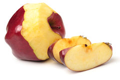 Red apple slice Stock Photos