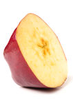 Red apple slice Royalty Free Stock Photo