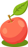 Red Apple Vector Illustration Royalty Free Stock Photos