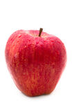 Red apple with waterdrops Stock Images