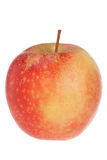 Red apple on white Royalty Free Stock Photo