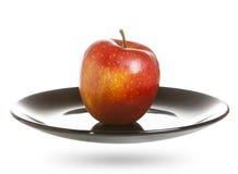 red apple white Zdjęcia Royalty Free