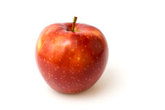 red apple white Obrazy Royalty Free
