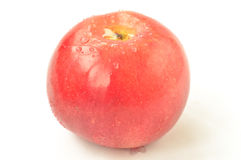 Red apple on a white background Royalty Free Stock Photos