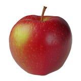 Fruit. Fresh red apple on white background Royalty Free Stock Image