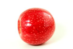 Red apple on white background Stock Photos