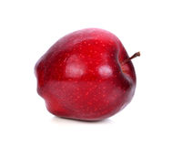 Red apple on a white background Royalty Free Stock Images