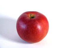 Red apple on white background Stock Image