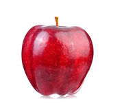 Red apple on white background Royalty Free Stock Photography
