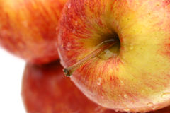 Red Apples. Close up Stock Photo