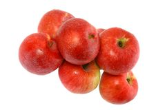 Red apples. Royalty Free Stock Photos