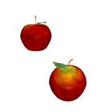 Red Apples. Delicious ripe red apples fresh from the vine and perfect for art, advertising and more Royalty Free Stock Photography