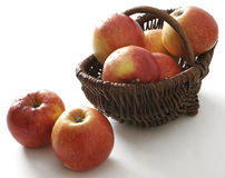 Red apples Stock Images