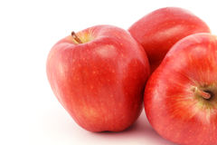Red apples close-up Royalty Free Stock Photography