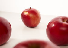 Red apples isolate Royalty Free Stock Photos