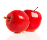 Red apples isolated Stock Photography
