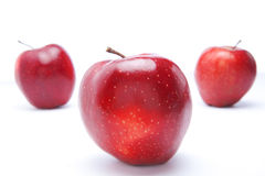 Red apples, isolated Stock Photography