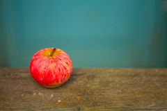 Red apples on the table Royalty Free Stock Images