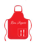 Red apron Stock Photography