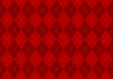Red argyle wallpaper Stock Photography