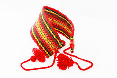 Red armband in the Ukrainian style Royalty Free Stock Images