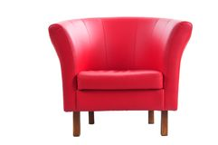Free Red Armchair Royalty Free Stock Photos - 12863848